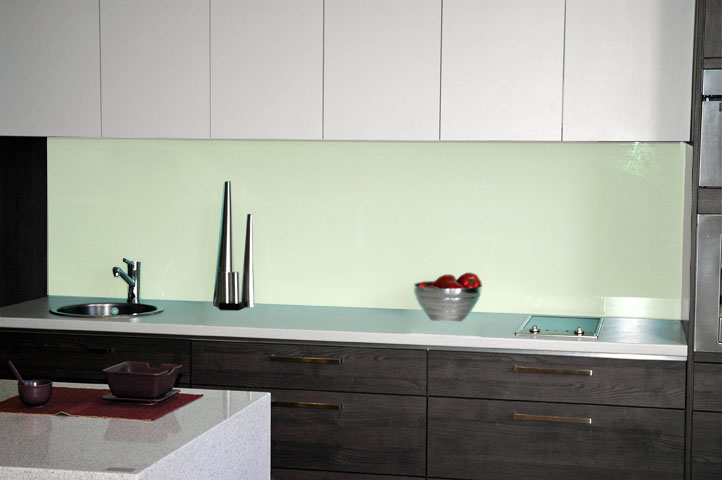 White Float Kitchen Glass Splashbacks Adelaide