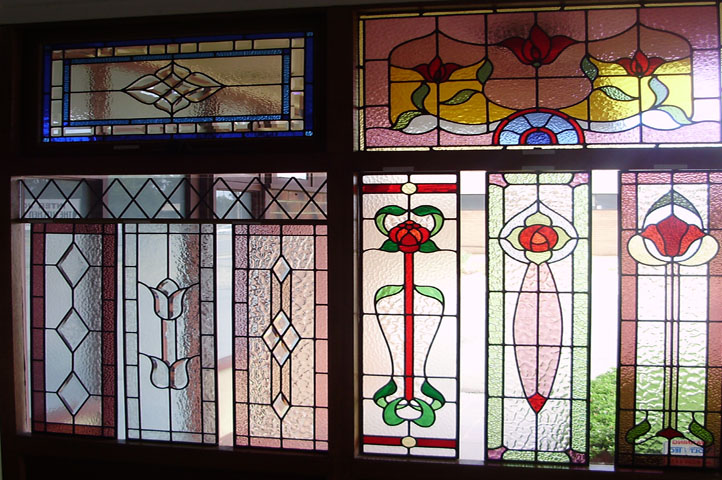 Leadlights window collection Adelaide