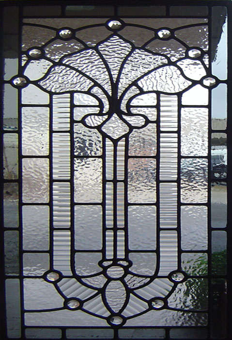 Square shapped Leadlights at Seaton Glass