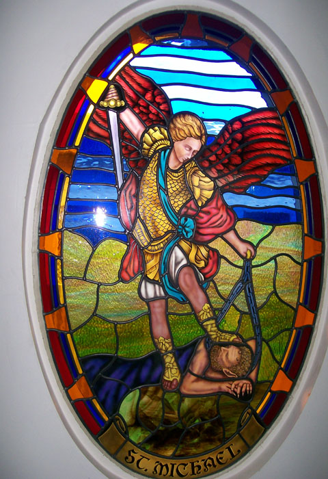 St. Michael - Leadlights in adelaide
