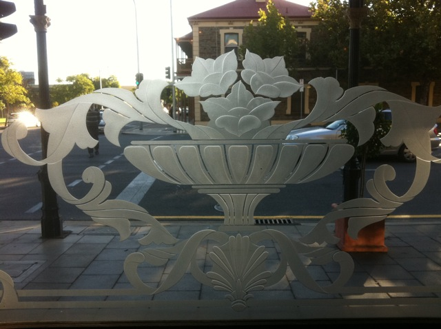 Etchied Glass Pattern Adelaide