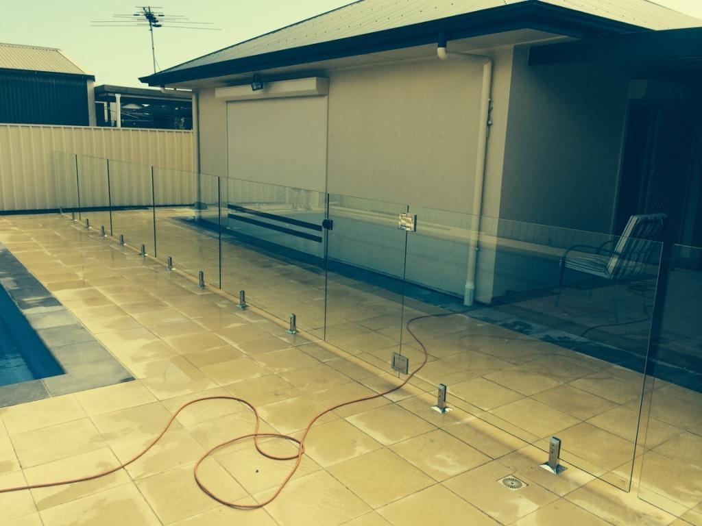 Framless Glass Pool Fencing Adelaide
